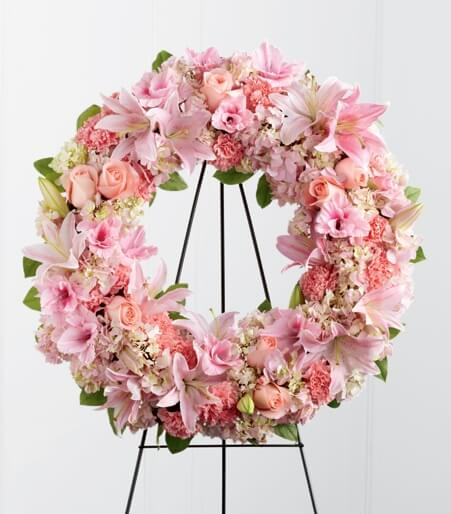Her Loving Remembrance wreaths
